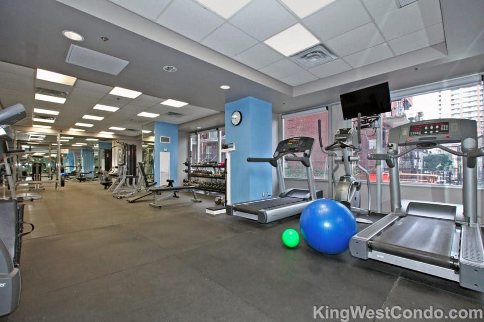 1029 King St W Electra Lofts Gym - KingWestCondo.com