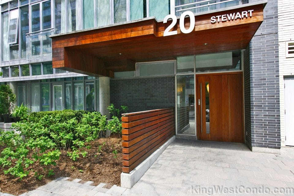 20 Stewart Lofts - Exterior2 - KingWestCondo.com