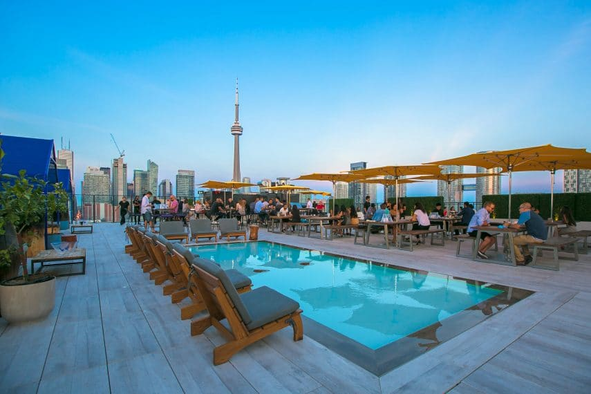 Rooftop Pool - King West Condos